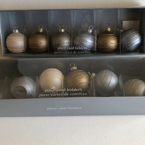 Set of 11 Pier 1 Place Card Holders